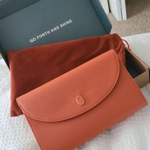 New in box Aurate travel jewelry case pouch